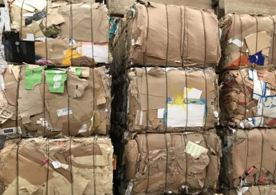 sascalypso recyclage 1.05 carton ondulé récuperé